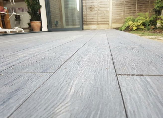 Composite Decking project