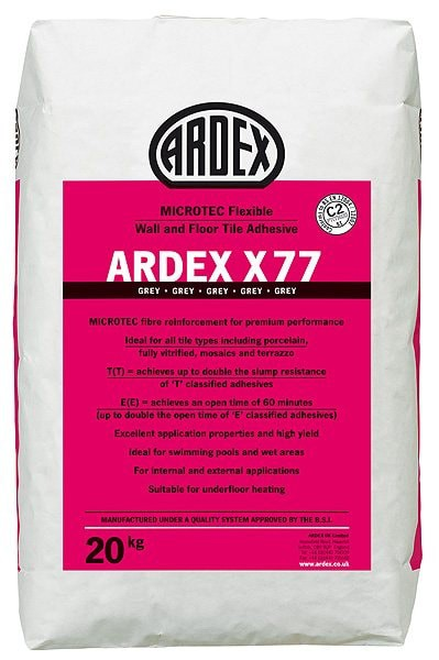 ALS Ardex X77 Wall- Floor Tile Adhesive