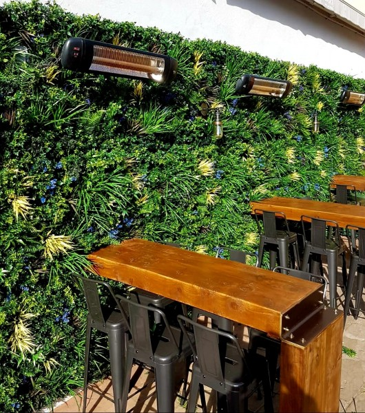 Rome Artificial Green Wall Panels