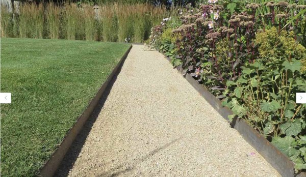 Corten Metal Edging