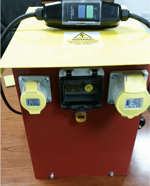 110V Transformer for ZOE Wet/Bridge Saws