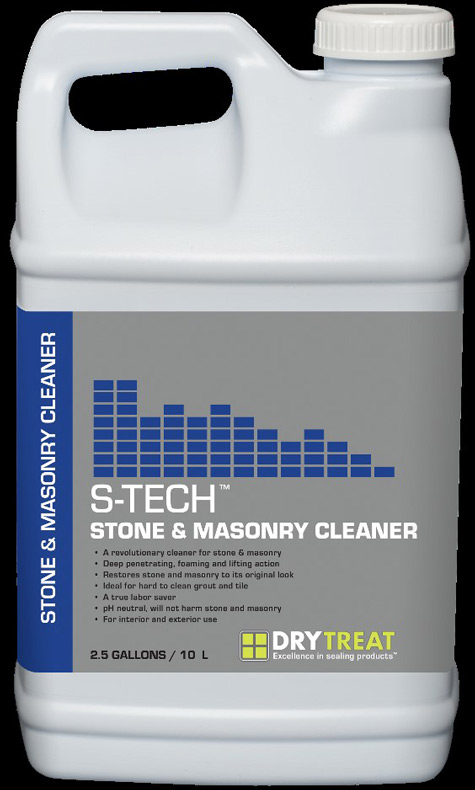 stone and masonry cleaner